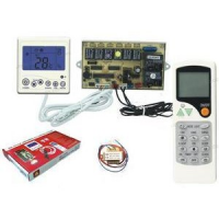 Universal Wall mount key pad, PC Board and Remote U12A