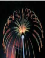 Flexi-Firework Jellyfish Star - 2.1m high 3.8m Diameter