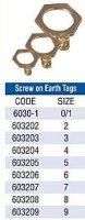 Cable Gland Screw On Earth Tag