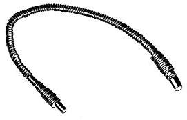 DRAIN HOSE FOR USA TOP LOADERS 1.5M (25mm MOUTH)