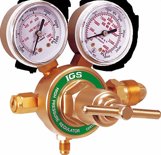high pressure nitrogen regulator model w