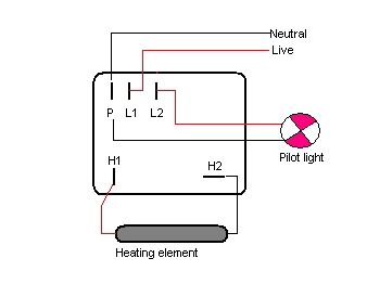 wiring diagrams stoves switches and thermostats macspares two plate hotplate connection · 71 th thermostat